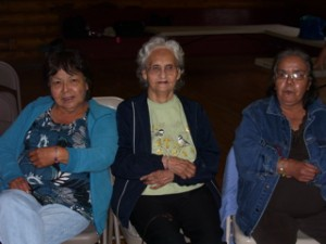 """Our """"groupies""""-Athabascan women"""